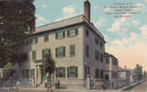 New Hampshire Portsmouth Gov Goodwin Mansion Erected 1811