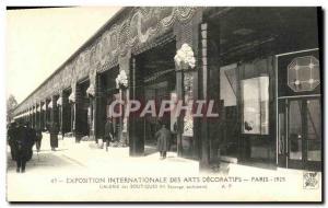 Old Postcard Exposition Internationale des Arts Decoratifs Paris 1925 Gallery...