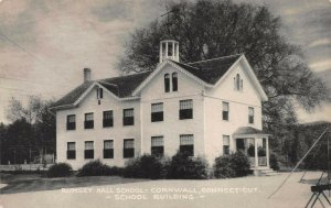 Rumsey Hall School, Cornwall, Connecticut, early postcard, unused