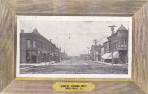 ROCK FALLS , Illinois , PU-1908; Main St. looking West