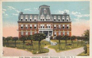 UNION HILL , New Jersey, 1900-10s ; Fritz Reuter Altenheim