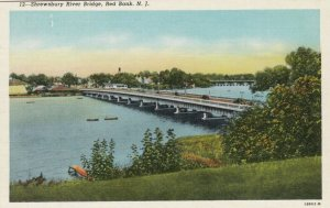 RED BANK , New Jersey , 1930-40s; Shrewsbury River Bridge