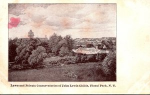 New York Floral Park Lawn and Private Conservatories Of John Lewis Childs