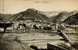 France - Digne. General View