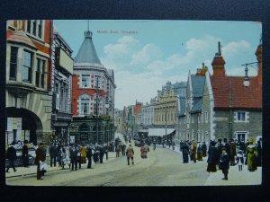 London CROYDON North End & George Street THE CROWN HOTEL c1905 Postcard