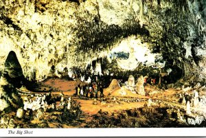 New Mexico Carlsbad Caverns National Park The Big Shot World's Largest F...