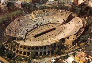 Italy Pozzuoli The Amphitheatre L'Anfiteatreo dall'aereo