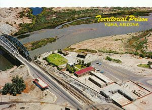 America Postcard - Territorial Prison and Museum - Yuma - Arizona - Ref 17188A