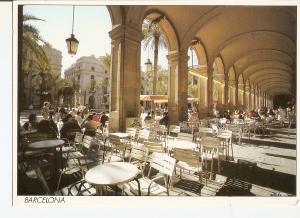 Postal 024881 : Barcelona. Plaça Reial