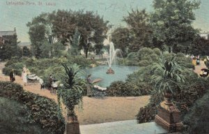 ST. LOUIS, Missouri, 1908; Lafayette Park