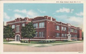 High School , ROCK HILL , South Carolina ,  1942