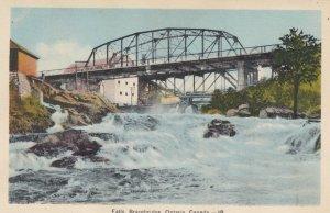 BRACEBRIDGE , Ontario , Canada , 1910-30s ; Bridge over Falls