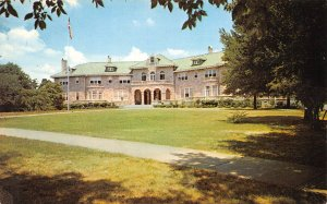 Memphis Tennessee 1960s Postcard  Pink Palace Chickasaw Gardens