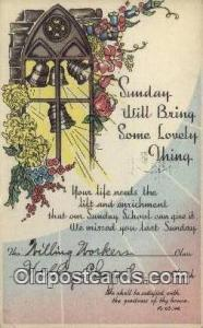 Sunday will bring some lovely thing Religion, Religious Old Vintage Antique P...