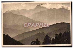 Postcard Old La Douce France Les Pyrenees Bagneres Bigore Surroundings Col d'...