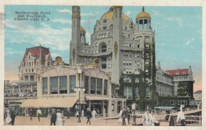 ATLANTIC CITY , New Jersey , 1924 ; Malborough Hotel & boardwalk