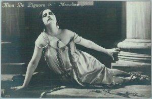 95655 - VINTAGE POSTCARD - CINEMA, Actress : RINA DE LIGUORO in Messalina