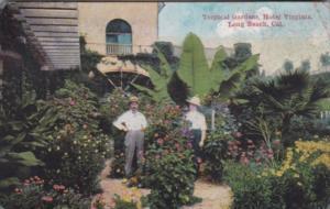 California Long Beach Tropical Gardens Hotel Virginia 1920