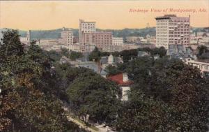 Alabama Montgomery Birdseye View Of Monutgomery