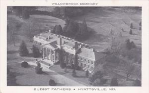 Aerial view,  Willowbrook Seminary,  Eudist Fathers,  Hyattsville,  Maryland,...