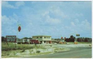 Fanning Springs FL US !9 Shacks 19 Truck Stop Postcard