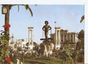 Postal 049611 : Malaga (Costa del Sol). Plaza de la Marina. El Cenachero. Esc...