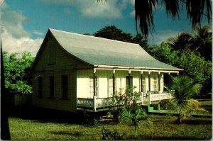 Cayman Islands Native Home Island Life Postcard Unused (33102)