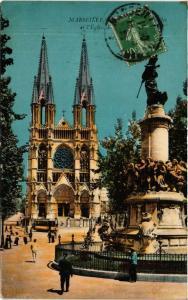 CPA MARSEILLE - L'Église (256285)