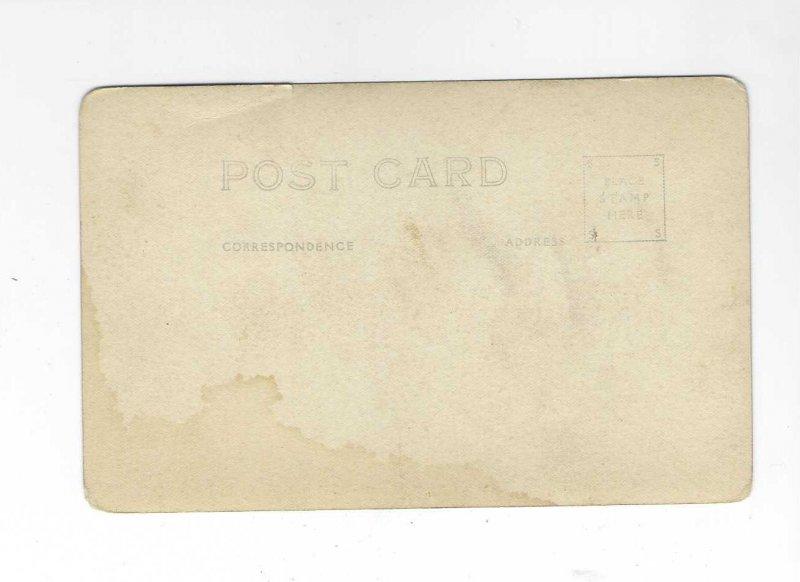 Vtg 1920's/30's RPPC Rushmore Mountains,  South Dakota Postcard