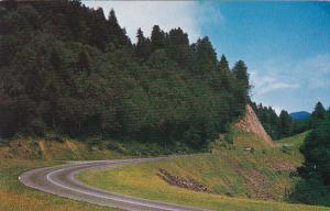 U S Highway 441 In The Great Smoky Mountains National Park