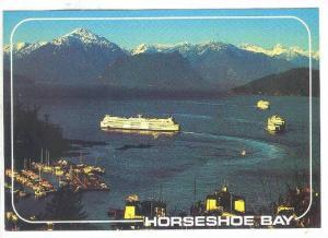 Ferry, Horseshoe Bay, British Columbia, Canada, 1970-1980s