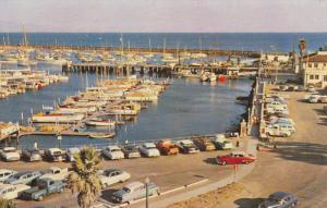 SANTA BARBARA, California; The Yacht Harbor, Classic Cars, 40-60s