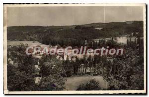 Postcard Ancient Near Montignac Thonac Vue Generale