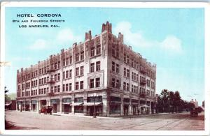 1915 Hotel Cordova, 8th & Figueroa St., Los Angeles, California D2