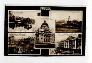 3132917 IRELAND DUBLIN Vintage photo collage
