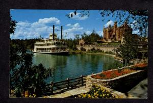 FL Ship Steamer Joe Fowler Disney World Amusement Park Orlando Florida Postcard