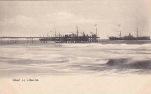 DAHOMEY . 00-10s ; Wharf de Cotonou