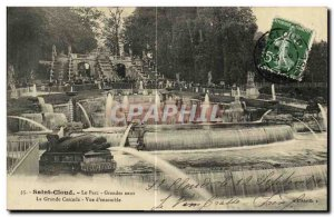 Postcard Old Saint Cloud The Large water park The largest waterfall Overview