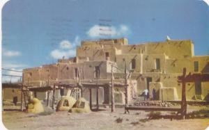 Taos Indian Pueblo,  Northern New Mexico,  PU_1950