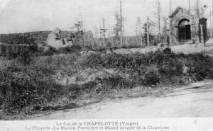 Military Le Col de la Chapelotte vosges 01.34