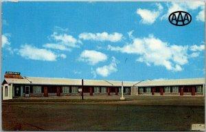 Rolla, Missouri Postcard LITTLE PINEY MOTOR INN Highway 63 Roadside 1971 Cancel