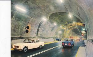 Tunnel , Courmayeur - Entreves , M. Bianco , 60-70s