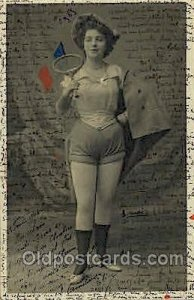 Tennis 1904 light wear 1904