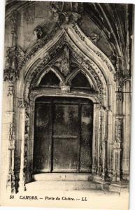 CPA CAHORS - Porte du Cloitre (224043)