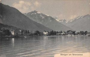 Bonigen Switzerland Brienzersee Scenic View Antique Postcard J45463