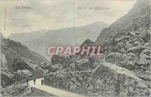 Old Postcard Chaos Road Gavarnie