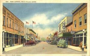 Park Ave. Idaho Falls ID Unused
