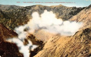 The Geyers Sonoma County, CA Northwestern Pacific Railroad Vintage Postcard