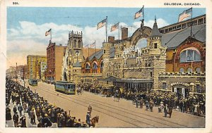 Coliseum Chicago, Illinois, USA Football Stadium 1921