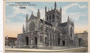 Church  Trinity Cathedral Euclid Street Cleveland Ohio